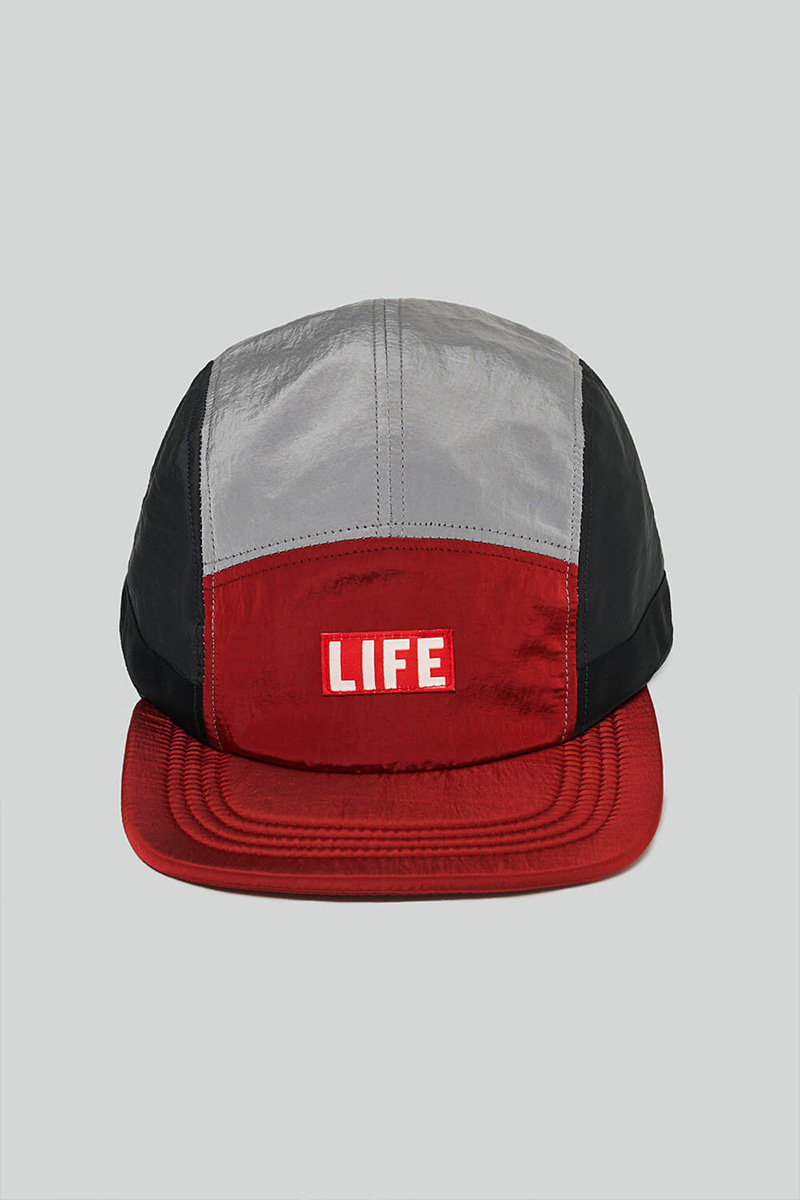 LIFE CAMP CAP_RED/GREY