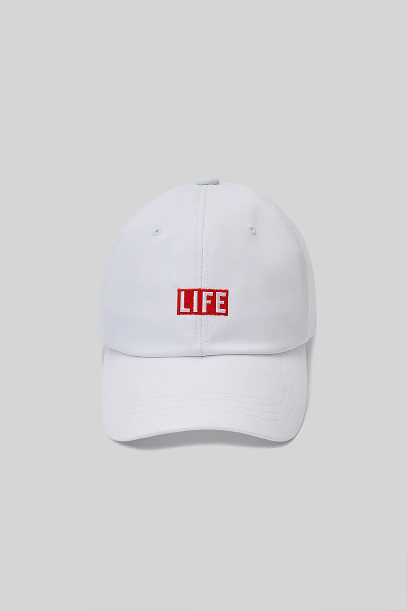 LIFE BALL CAP_WHITE