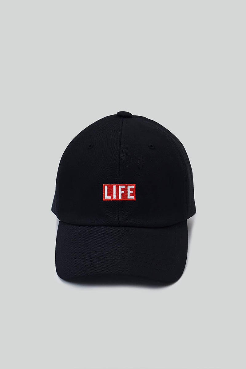 LIFE BALL CAP_BLACK