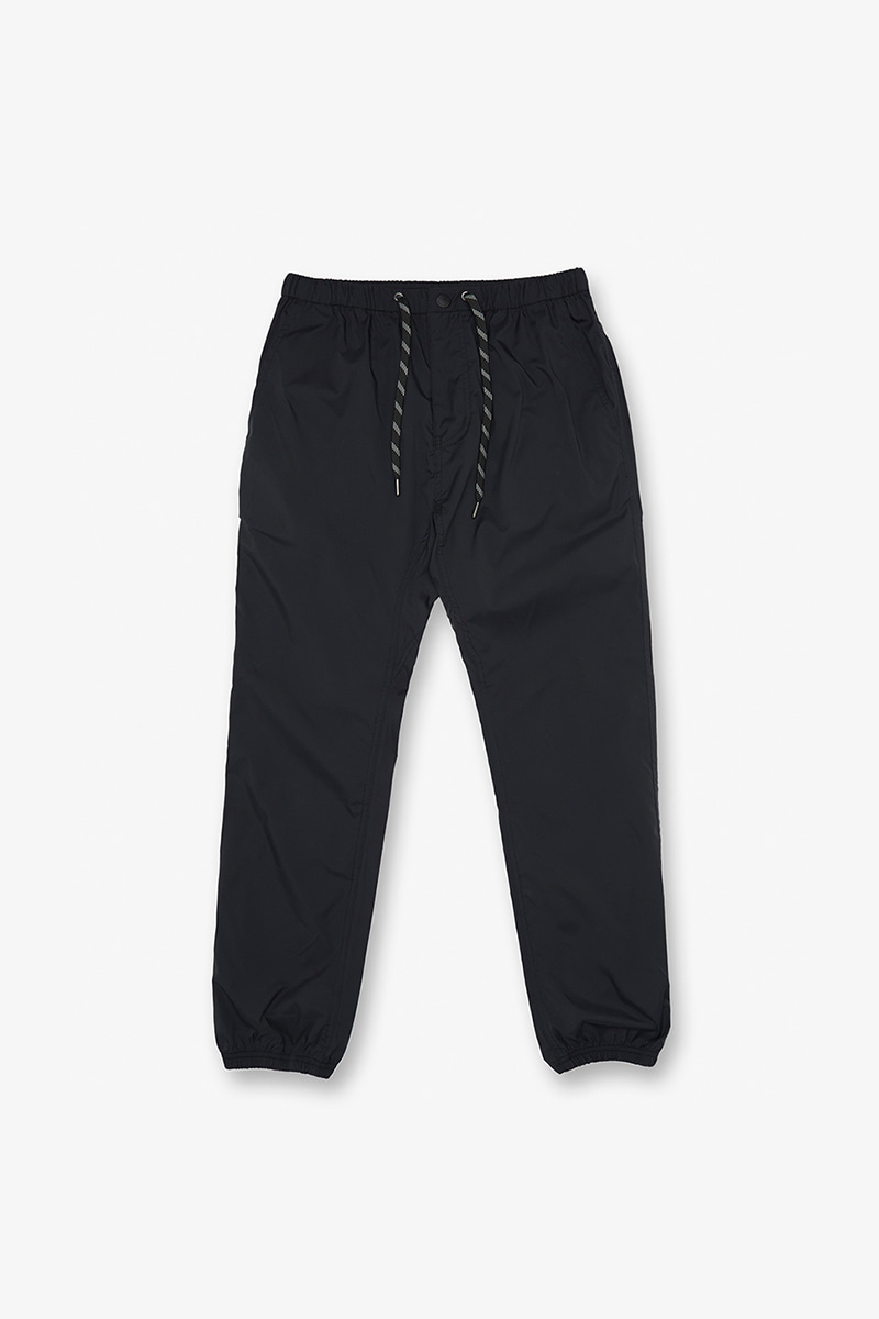 THINGS EASY RIB PANTS BLACK