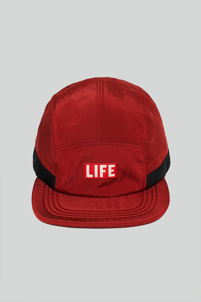 LIFE CAMP CAP_RED