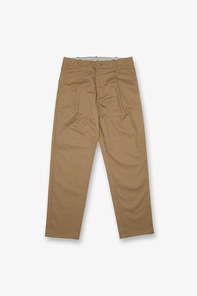 TUCK PANTS BEIGE