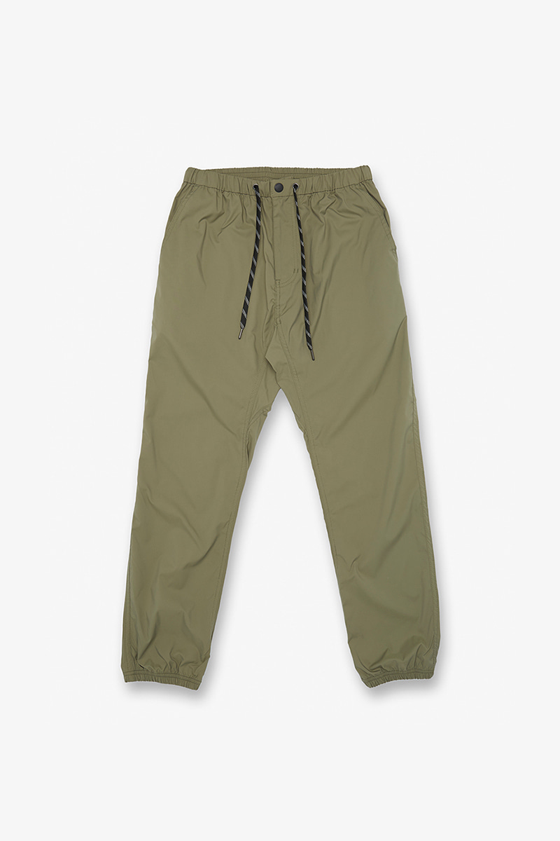 THINGS EASY RIB PANTS SMOKY LEAF