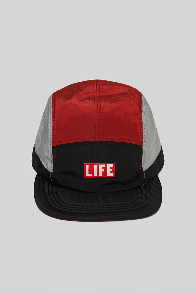 LIFE CAMP CAP_BLACK/RED