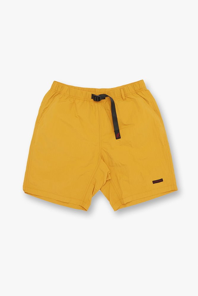 SHELL PACKABLE SHORTS MUSTARD