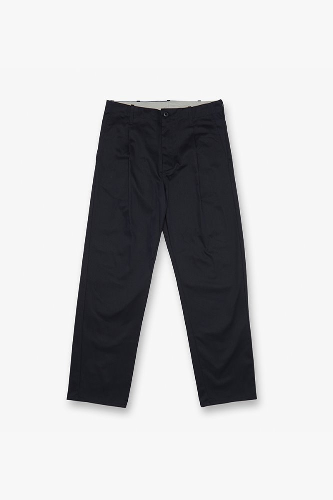 TUCK PANTS NAVY