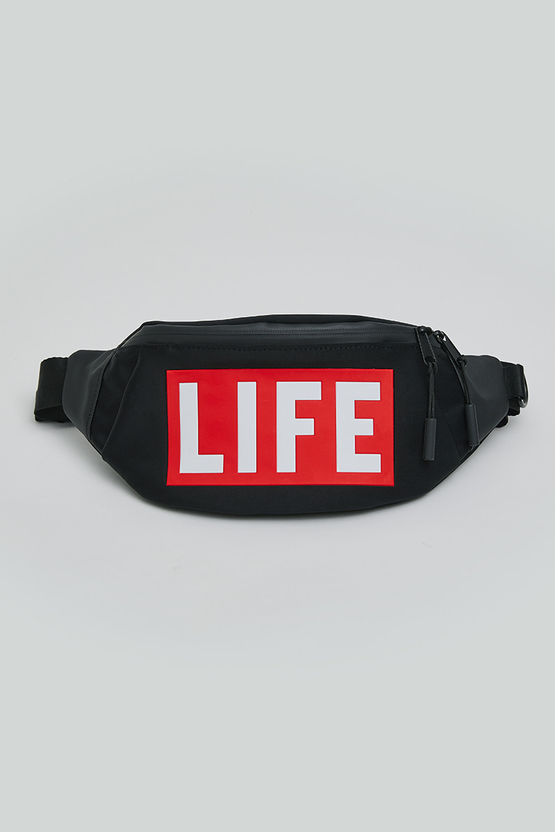 LIFE SMALL HIPSACK_BLACK