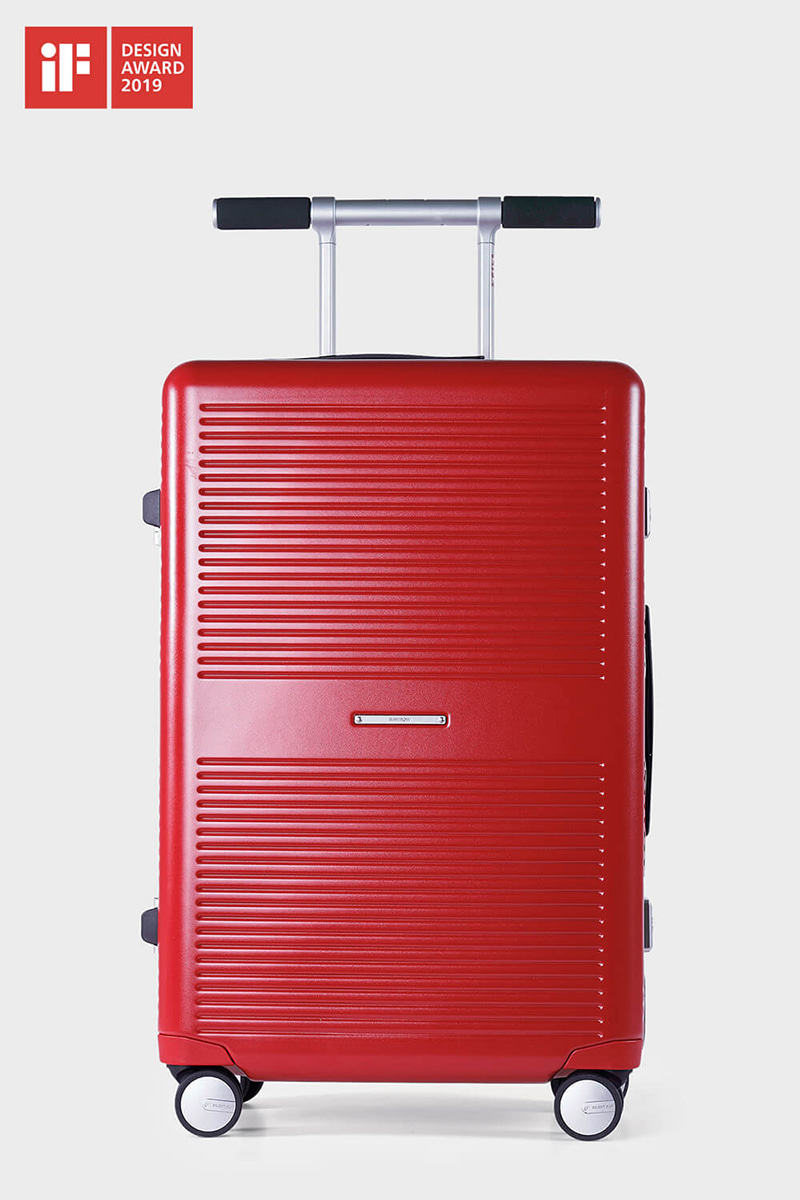 LIFExR TRUNK HARDSHELL 63L_RED