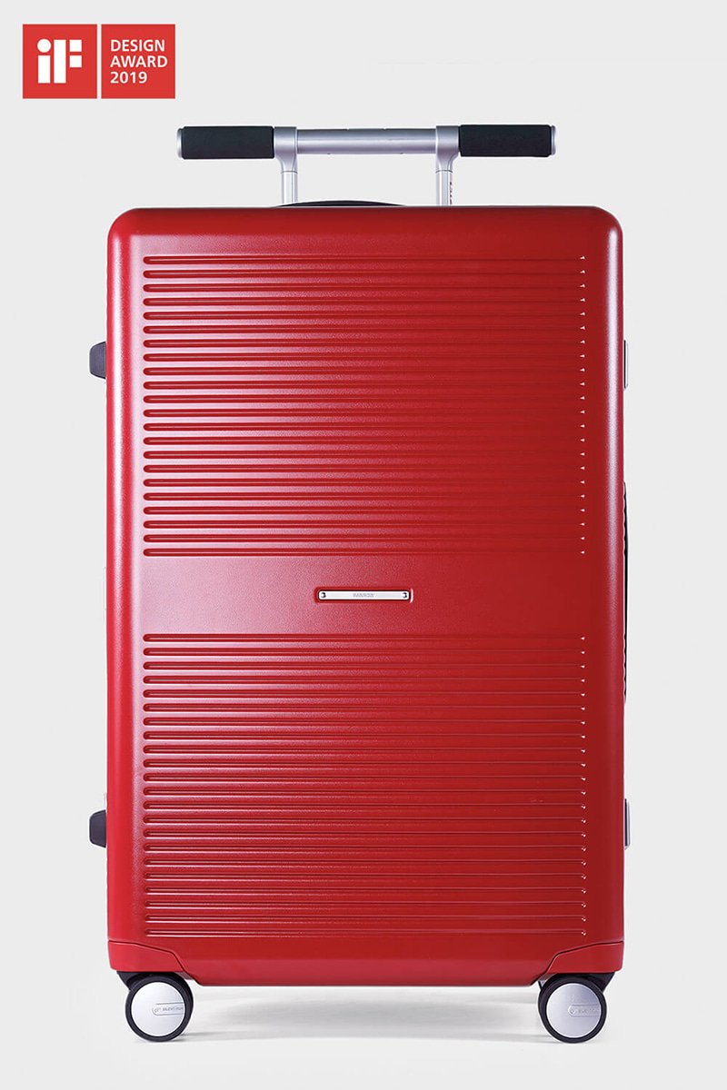 LIFExR TRUNK HARDSHELL 88L_RED