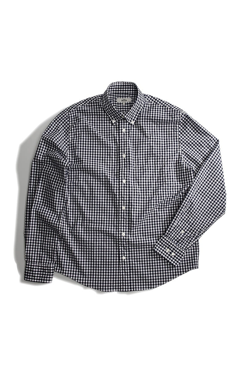 TOM NAVY GINGHAMCHECK SHIRTS