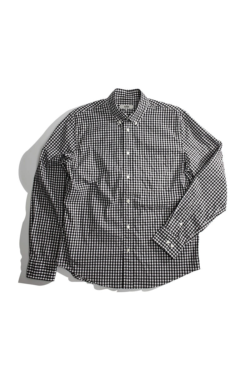 TOM BLACK GINGHAMCHECK SHIRTS
