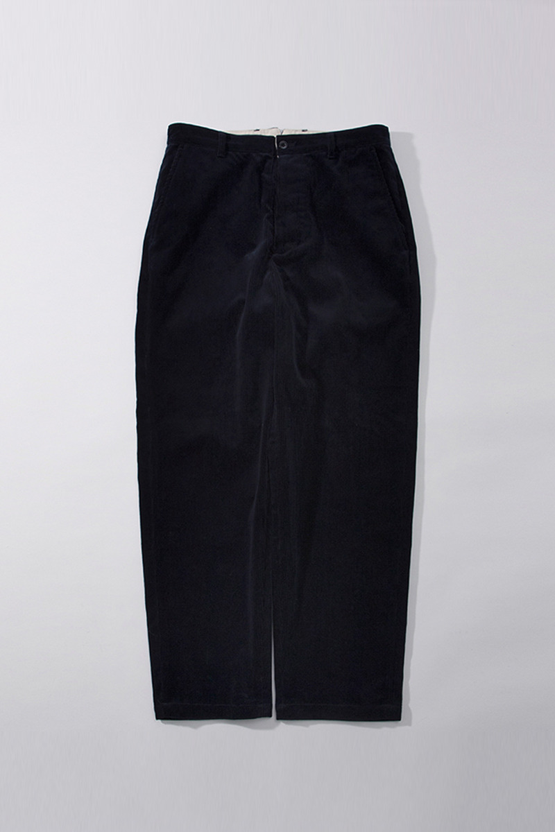 Washed Tapered Pants Corduroy(navy)
