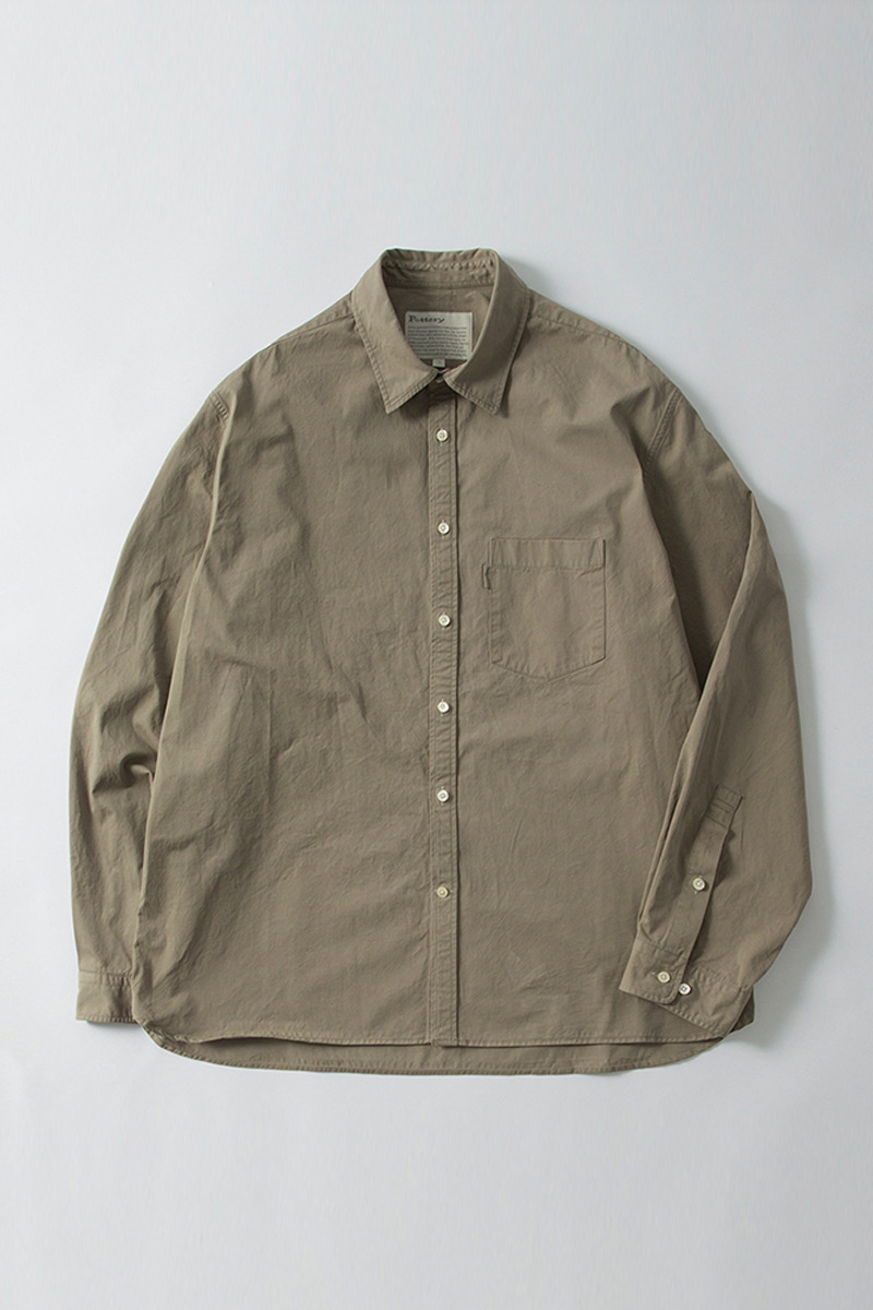 Comfort Shirt Covert Gray