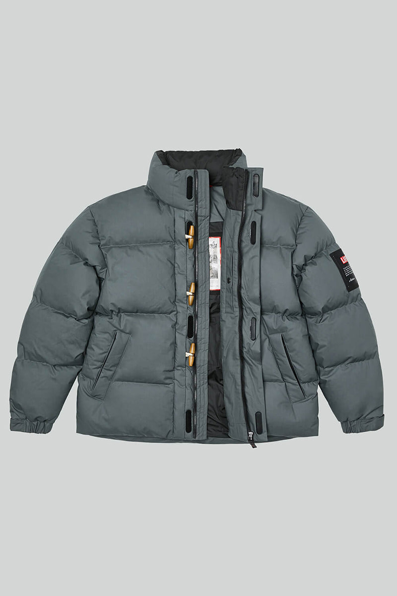 LIFE DUFFLE DOWN JACKET_GREY