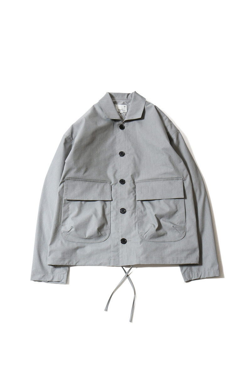 20SS Capital Light Weight Drop Shoulder functional Jacket Gray