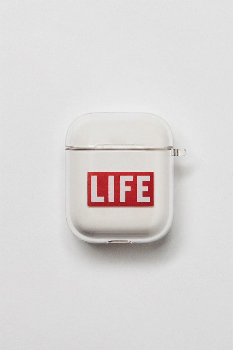 LIFE LOGO AIRPOD HARD CASE_1/2세대