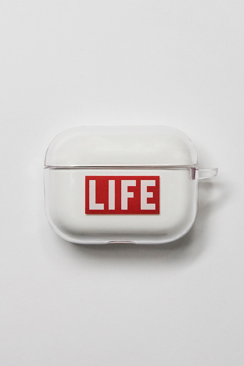 LIFE LOGO AIRPOD HARD CASE_프로