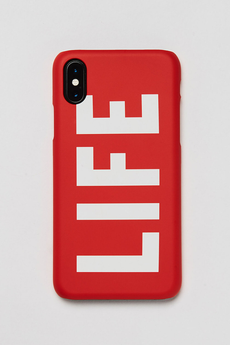 LIFE LOGO HARD PHONE CASE_RED
