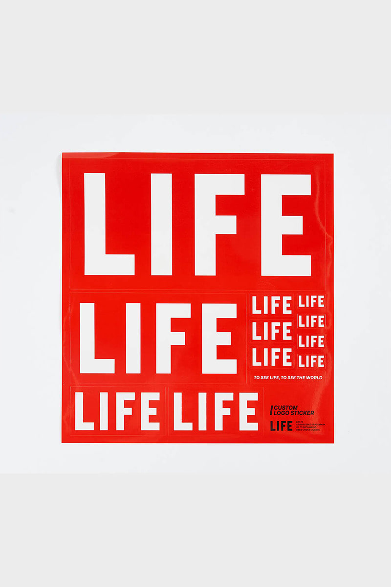 LIFE LOGO STICKER